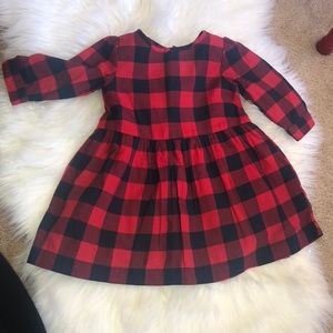 Gap toddler girl gingham dress